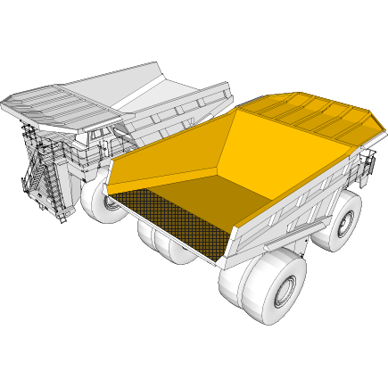 Bodies for trucks, tippers and dumpers in Hardox® steel