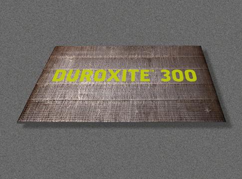 Hardox wearparts Duroxite 300 banner