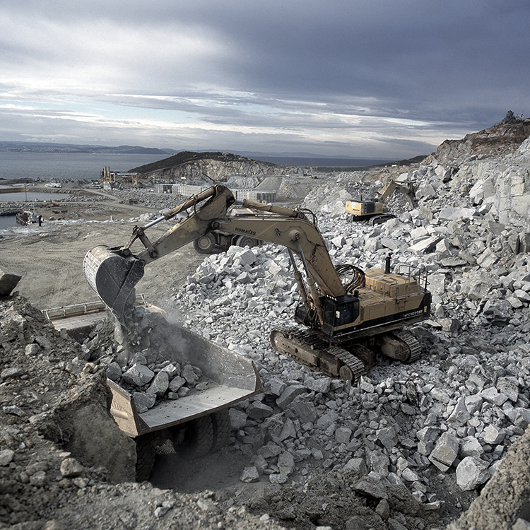 Wear challenges in quarries