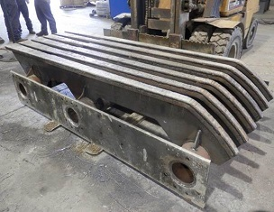 Grizzly bars in Duroxite with extended service life