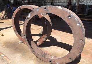 Cone crusher protector ring with long service life