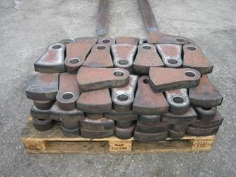 Limestone hammer with lower cost