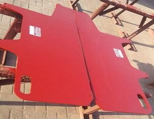 沥青摊铺机的底板厚度均匀