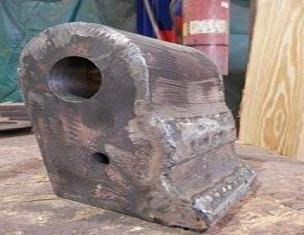 树皮磨碎机锤延长了使用寿命