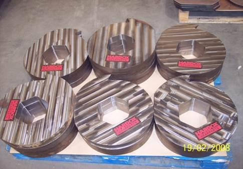 Cuchillas de trituradora con mejor estabilidad de forma
