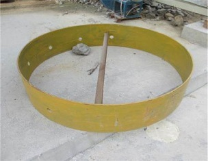 Counter weight guard with long service life