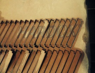 Cuchillas para trituración de fragmentos con una larga vida útil