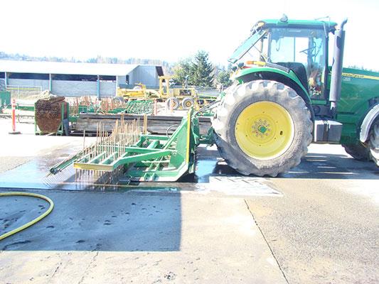 El revestimiento de los accesorios de pavimentación permite crear mejores pistas