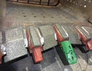 Продление срока службы межзубьевой защиты ковшей драглайнов
