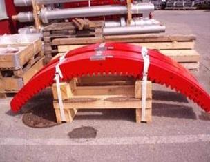 Drivhjul till skidlift med lägre vikt