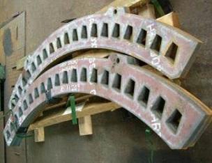 Asientos de barras de criba con una larga vida útil