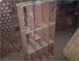 Concrete mold with long service life