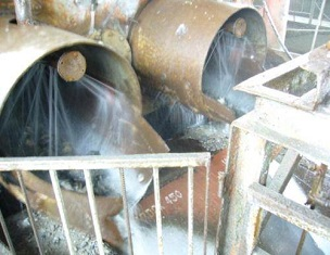 Entrada de tubos en Hardox que prolongan la vida útil