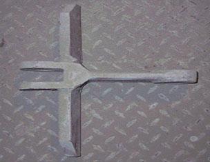用于水泥熟料的刮板侧翼使用寿命长