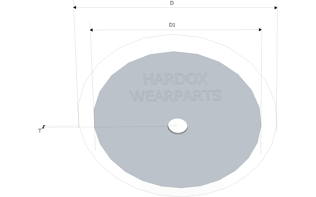 Cutter wheels in Hardox® steel
