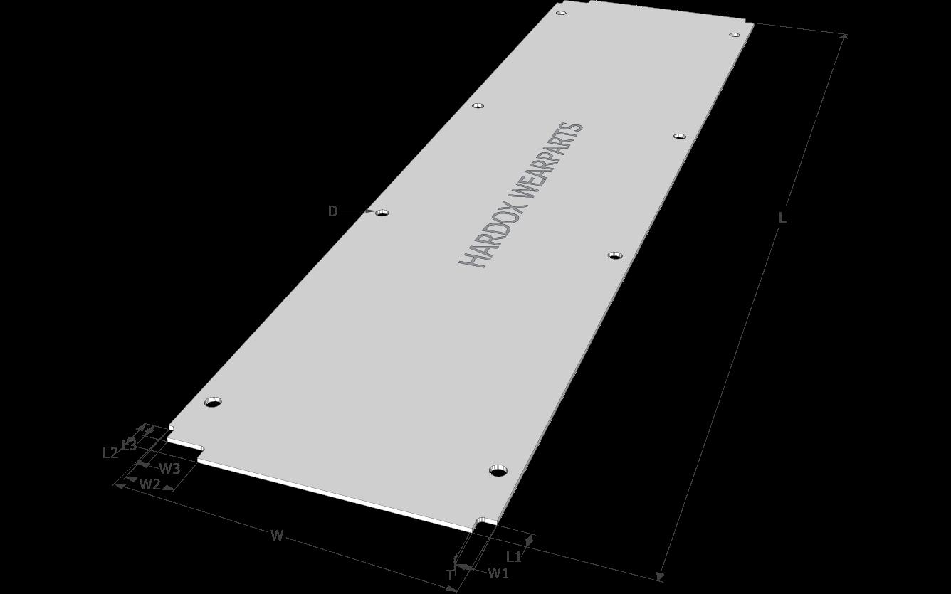 Paver floor plate