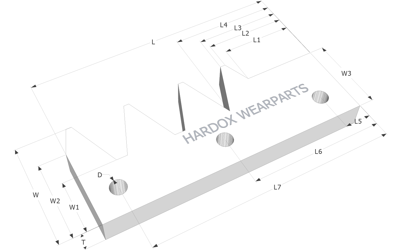 Pulverizer teeth in Hardox® steel
