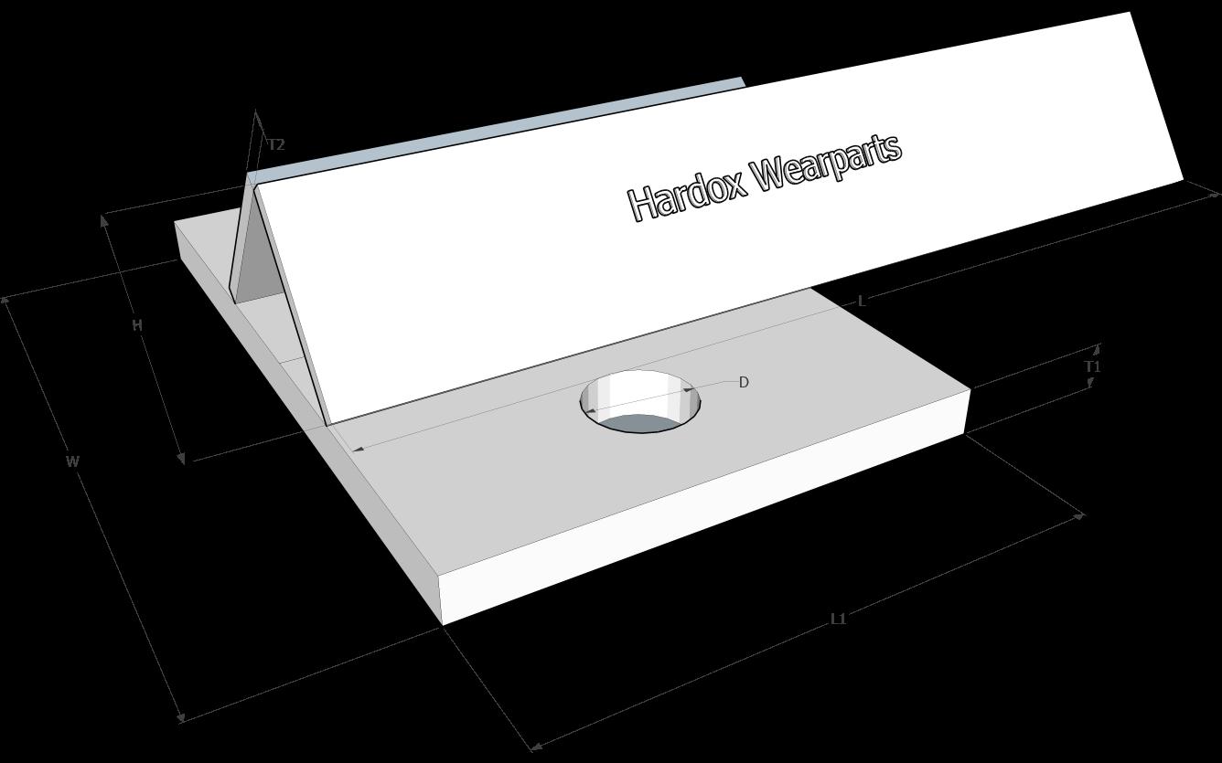 Conveyor paddle