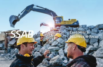 SSAB values: The customer's business in focus