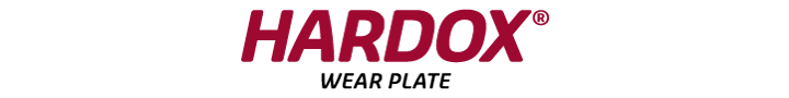 Logo acier anti-abrasion Hardox