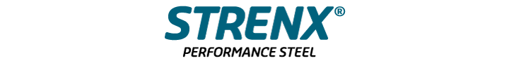 Logo de l'acier à hautes performances Strenx®