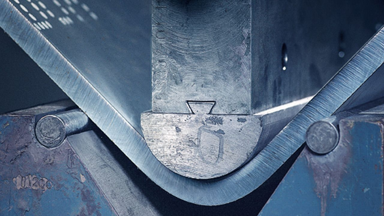 Bending of Armox® plate