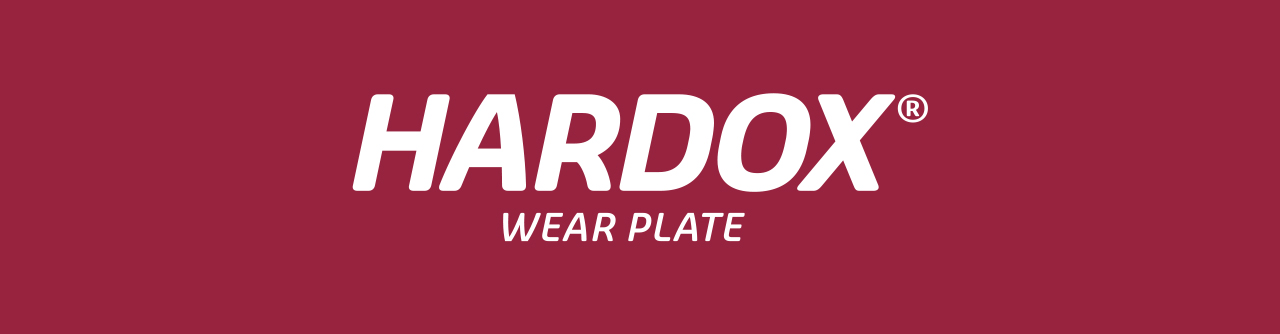Hardox wear plate logotype