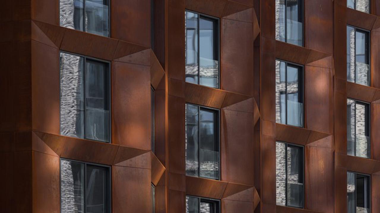 COR-TEN® - corrosion-resistant steel