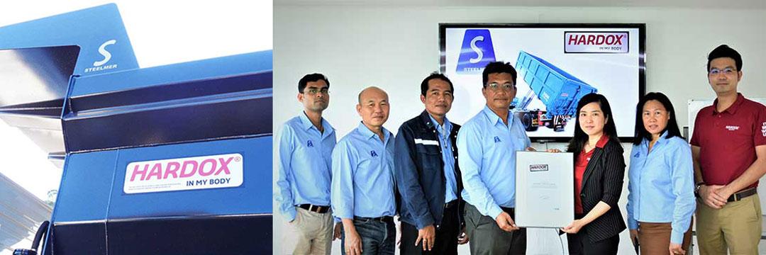 Steelmer - first thai tryck manufacturer joins Hardox in my body team