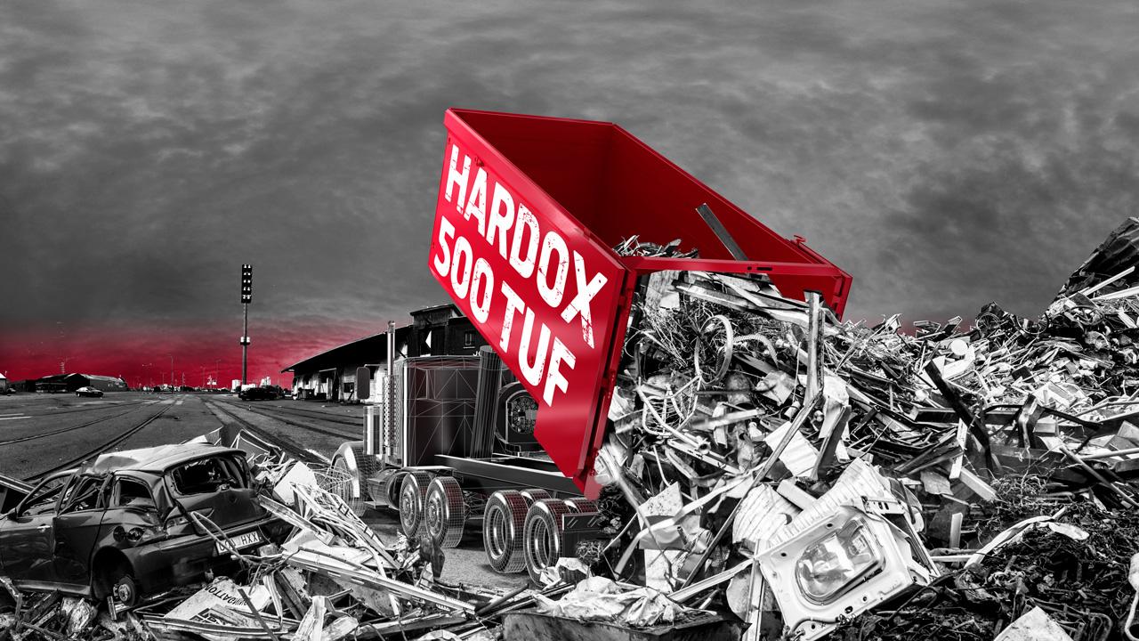 Hardox® kulutusteräs vaihtolavoissa ja kuljetuskonteissa