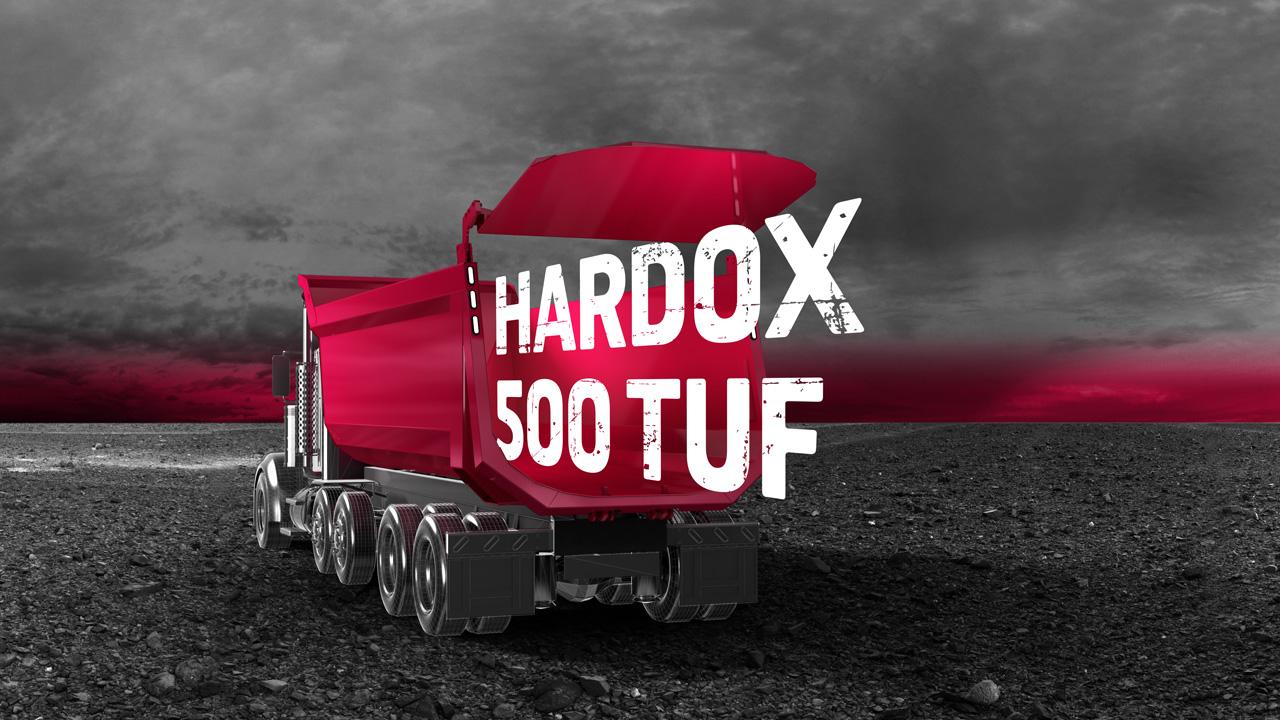 Hardox® kulutusteräs maanrakennusajoneuvojen lavoissa