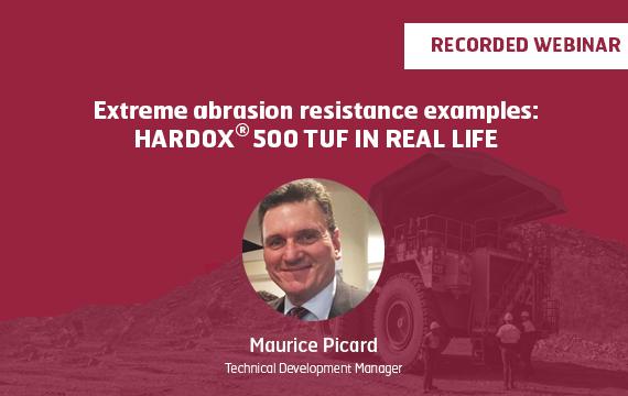 Hardox 500TUF banner