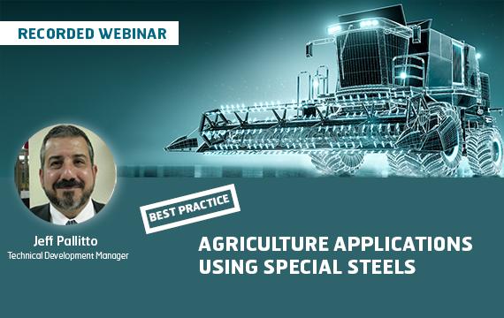 Agriculture webinar banner