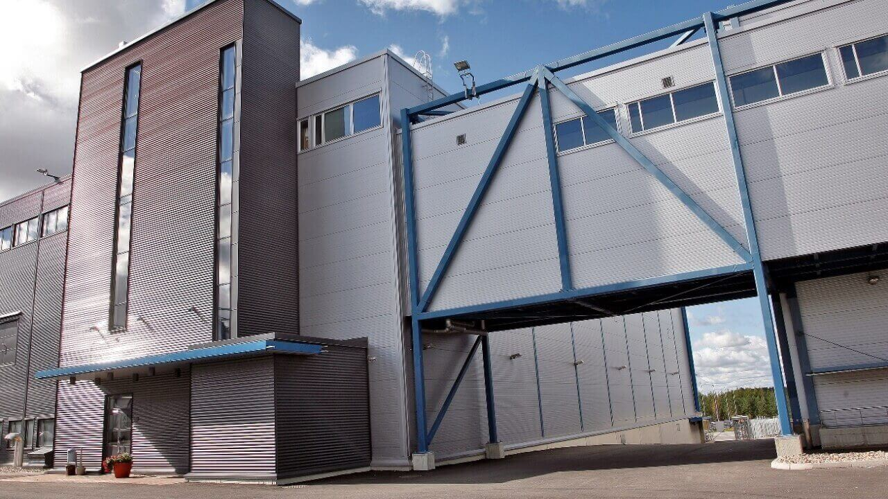 Ruukki Construction building