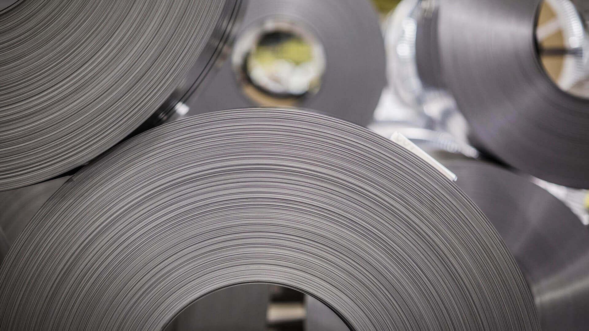 steel sheet rolls