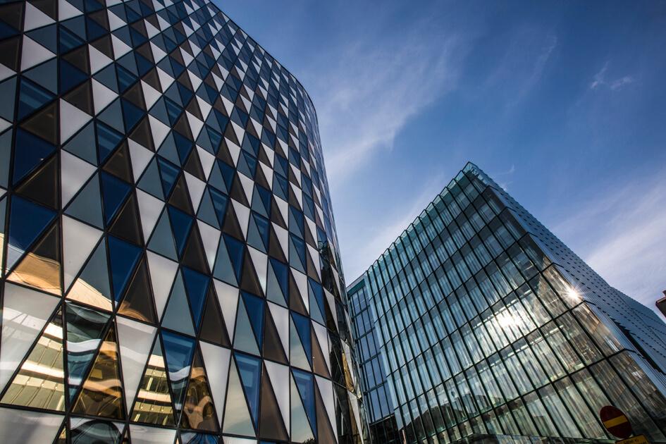 Yrityksen rakennukset