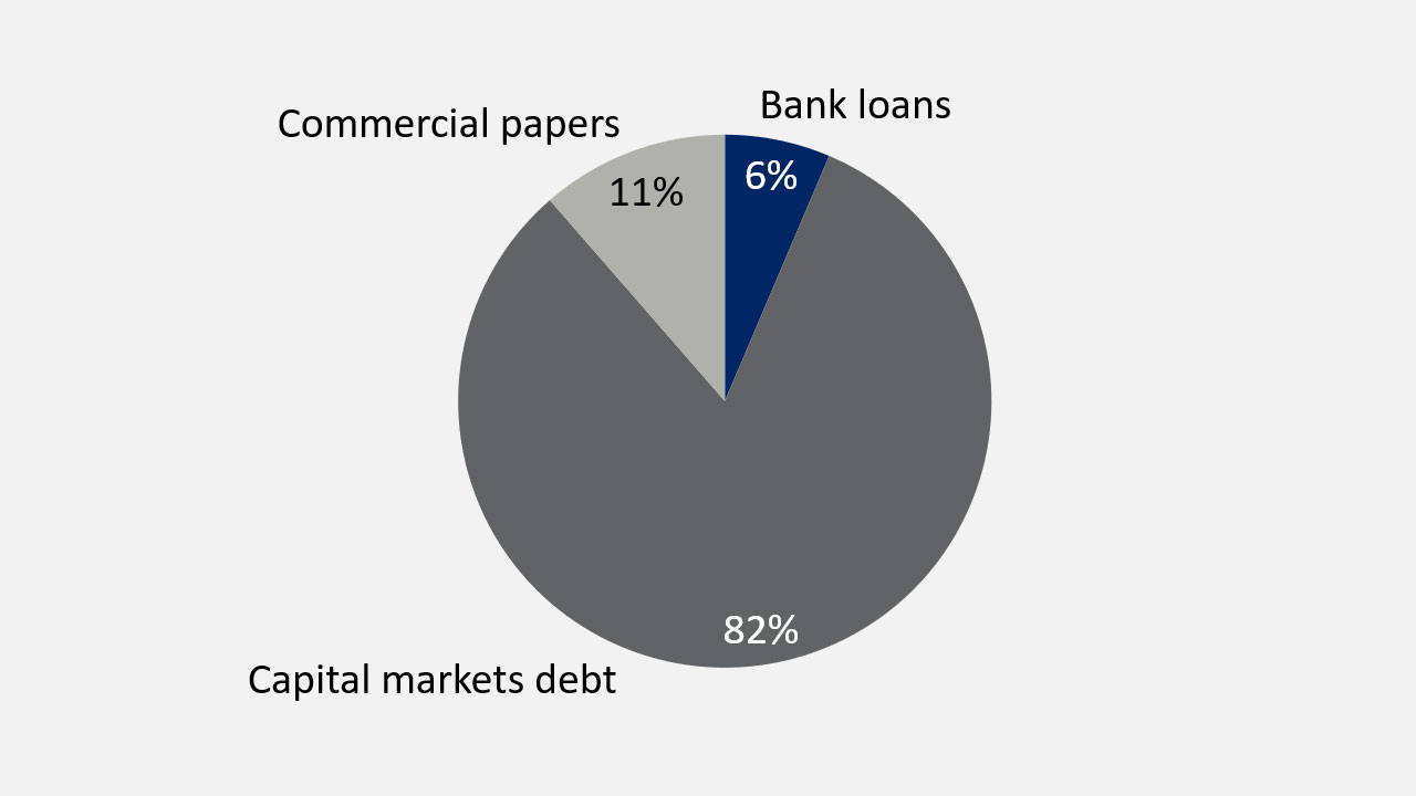 Debt structure on