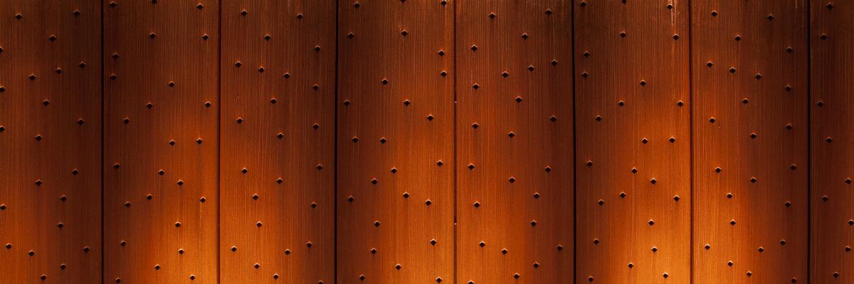 Surface de l'acier COR-TEN®