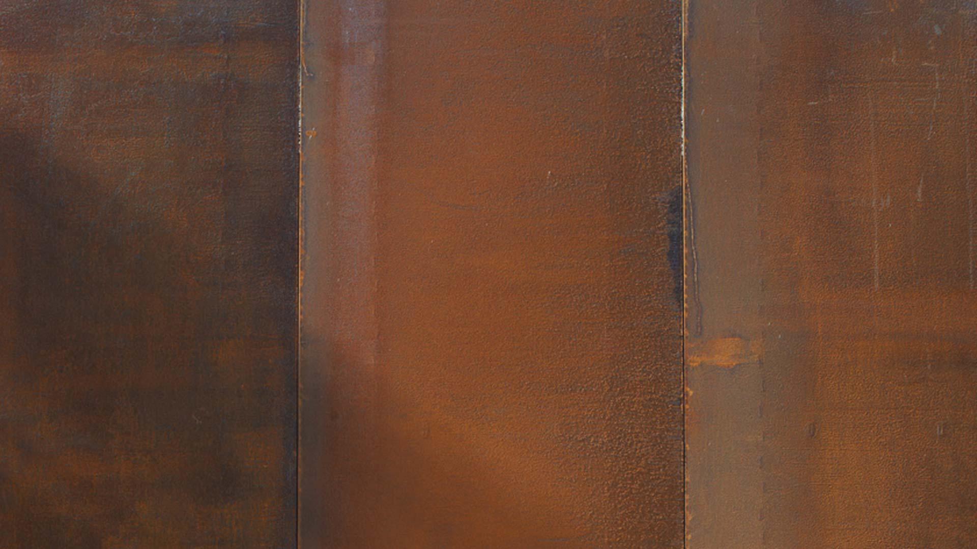 COR-TEN® acélból készült homlokzat