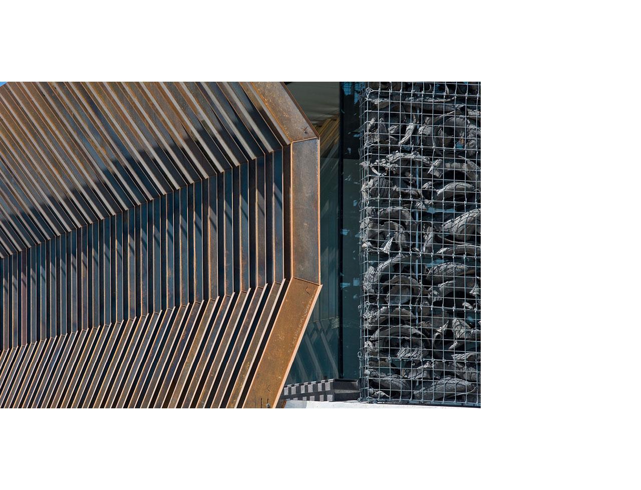 COR-TEN® – Centrála společnosti Audenasa