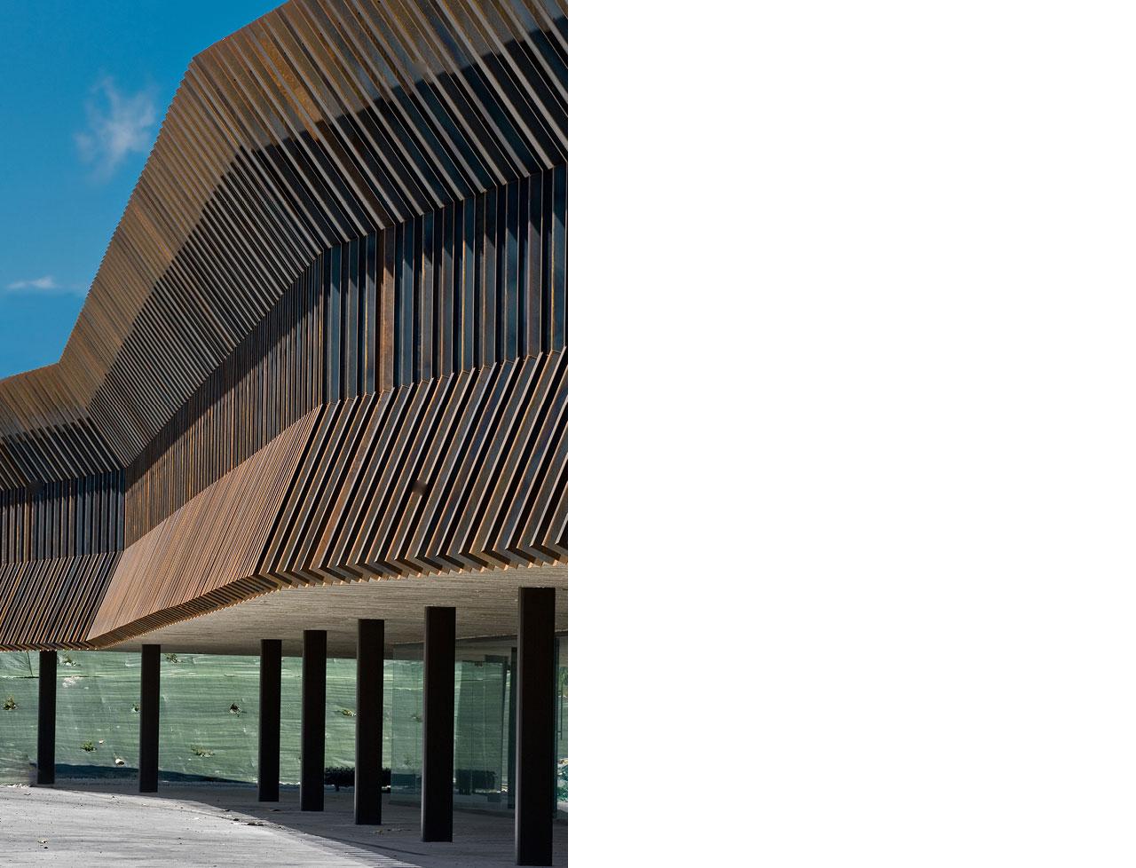 COR-TEN® – Audenasa Headquarters