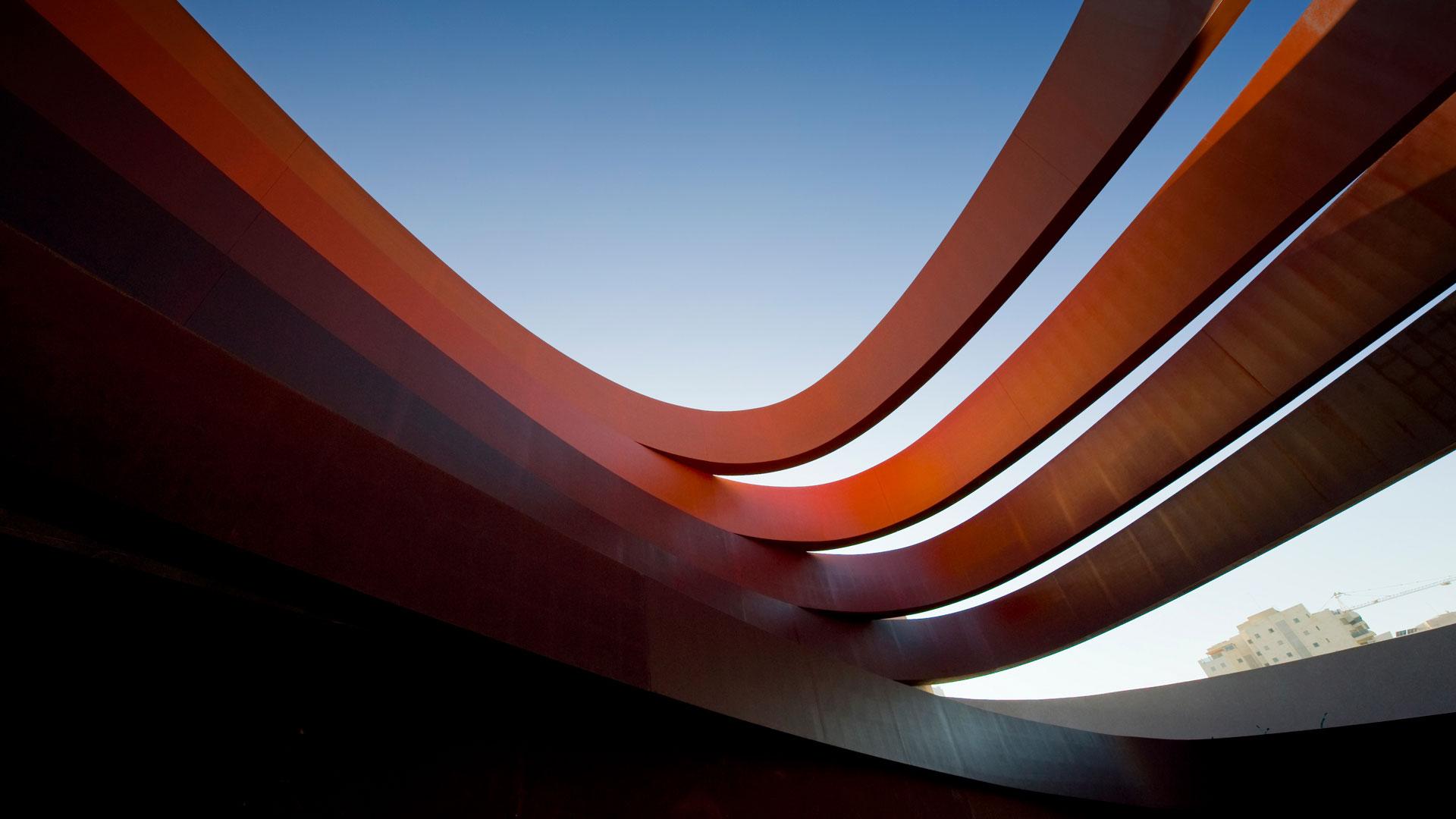 Design Museum Holon in COR-TEN® acélból