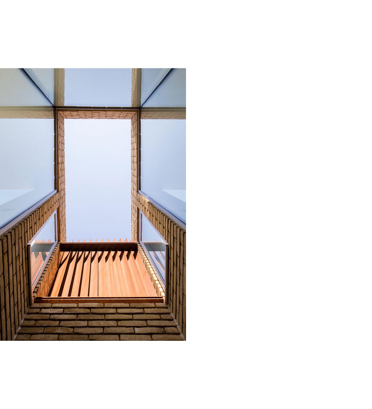 COR-TEN® – Domek v Hackney