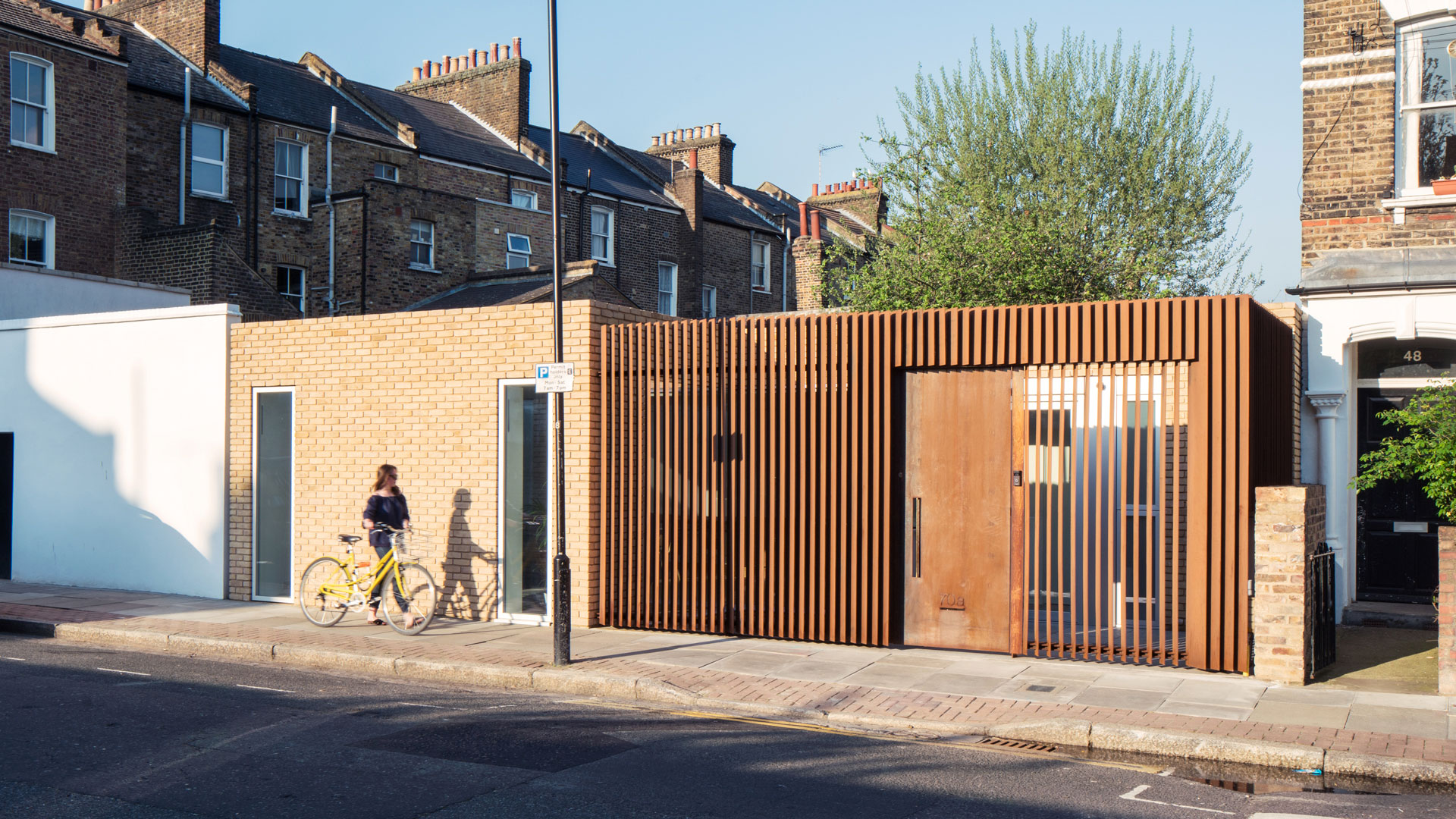 Hackney Backhouse i COR-TEN®