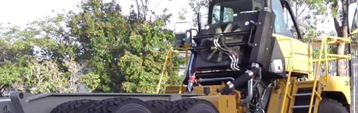 EcoUpgraded Offhighway hauler