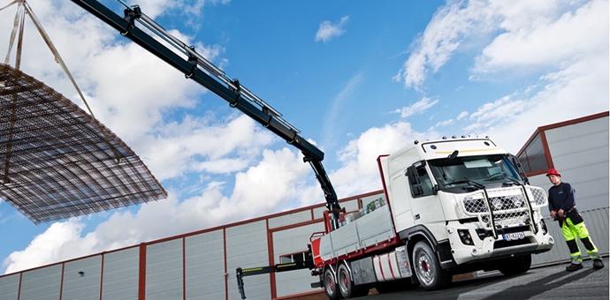 SSAB Strenx EcoUpgraded Loader crane