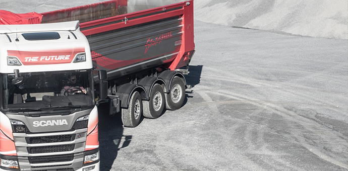 SSAB Hardox Strenx EcoUpgraded Tipper trailer chassis