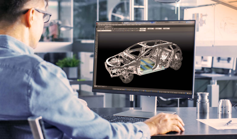 Optimierung der Fahrzeugkonstruktion