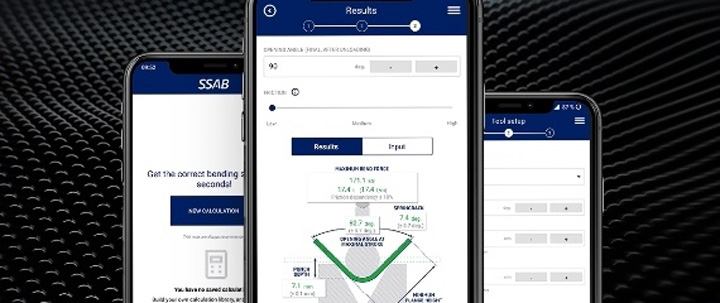 Application mobile BendCalc