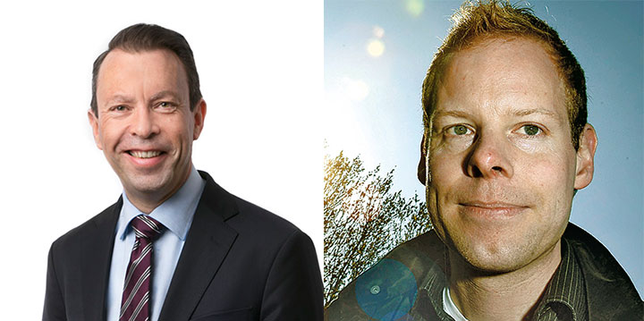 Thomas Hörnfeldt et Jonas Larsson